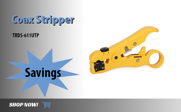 <strong>Coax Stripper</strong>TRDS-611UTP